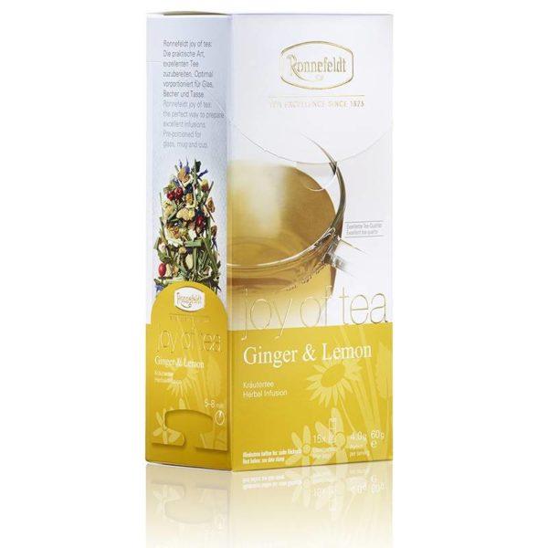 Joy of Tea® Ginger & Lemon von Ronnefeldt