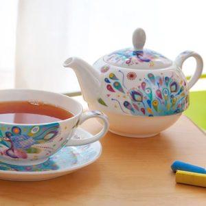 Porzellan Teekannen